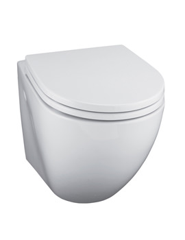 Ideal Standard White Wall Mounted WC Pan - E000501