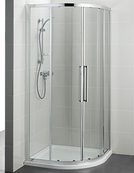 Kubo 900mm Quadrant Shower Enclosure - T7351EO