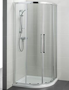 Kubo 900mm Quadrant Shower Enclosure - T7351EO