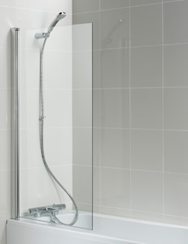 Connect 820 x 1400mm Angle Bath Screen - T9923EO