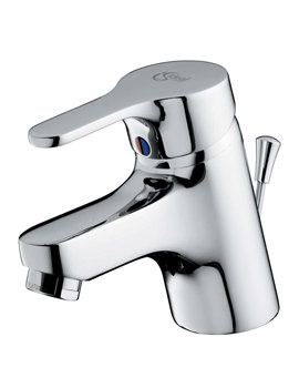 Ideal Standard Alto Single Lever 1 Hole Basin Mixer Tap With Pop-Up Waste