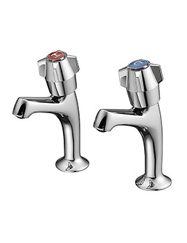 Related Armitage Shanks Nimbus Chrome Basin Pillar Taps - S7195AA