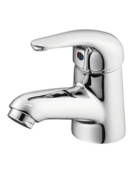 Opus Single Lever Basin Mixer Tap Without Waste