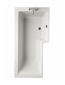 Ideal Standard Concept Idealform Plus Square 1700mm Shower Bath RH