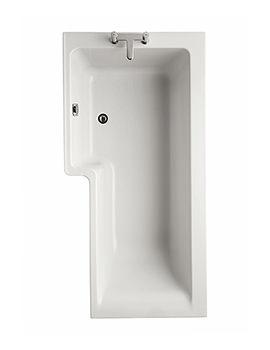 Ideal Standard Concept Idealform Square 1500mm Left Hand Shower Bath