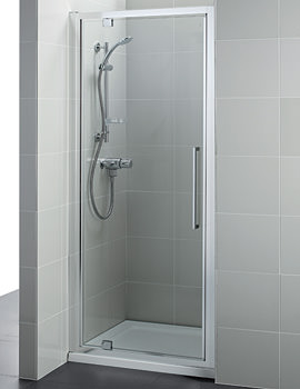 Kubo 900mm Pivot Shower Door - T7374EO