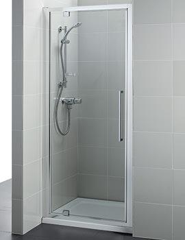 Kubo 900mm Pivot Shower Door - T7374EO
