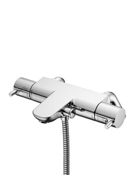 Ideal Standard Alto Ecotherm Bath Shower Mixer Tap With Rim Mounted Legs