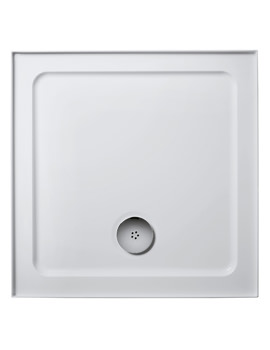 Idealite Low Profile 760mm Square Upstand Shower Tray