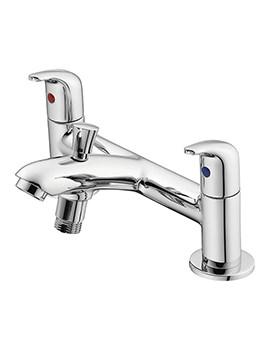 Ideal Standard Opus Chrome 2 Hole Bath Shower Mixer Tap - B0294AA