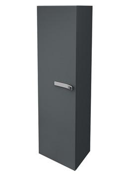 Ideal Standard Strada Left Hand 400mm Tall Storage Unit Gloss Grey