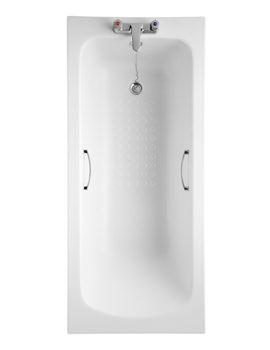 Armitage Shanks Sandringham 21 1600 x 700mm Idealform 2 TH Bath With Tread