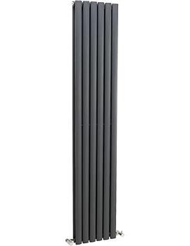 Retro 326 Designer Radiator Anthracite 354 x 1750mm