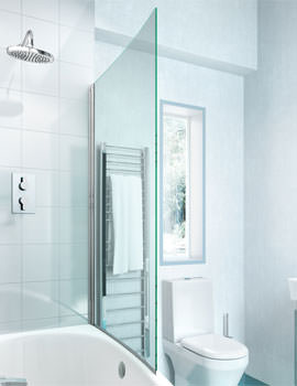 Cleargreen Ecocurve Bathscreen 850 x 1450mm - BS6