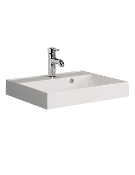 Bauhaus Design 500mm 1TH Cast Mineral Marble Vanity Basin - DE0002SRW