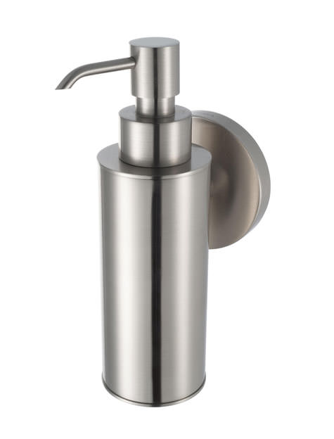 Aqualux Haceka Pro 2500 Metal Soap Dispenser Brushed Nickel