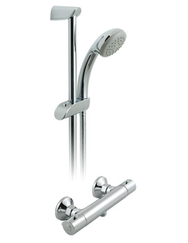 Prima Exposed Thermostatic Shower Valve With 1 Function Kit