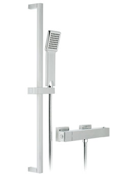 Related Vado Te-V2 Exposed Thermostatic Shower Valve With 1 Function Kit