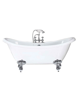 Balmoral Double Ended Slipper Bath 1750 x 720mm - RT004