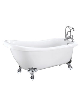 Balmoral Single Ended Slipper Bath 1550 x 730mm - RT003