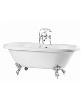 Balmoral Double Ended Roll Top Bath 1700 x 750mm - RT002