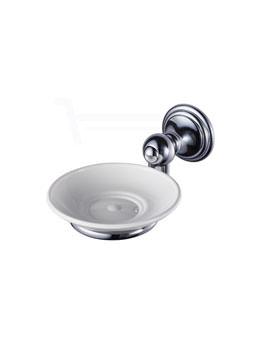 Aqualux Haceka Allure Soap Holder Chrome - 1126172
