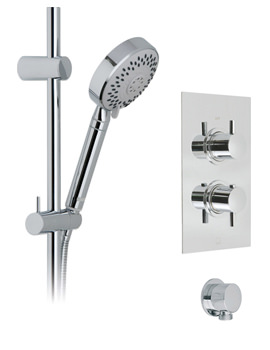 Vado Celsius-Neptune Concealed Thermostatic 5 Mode Shower Rectangle