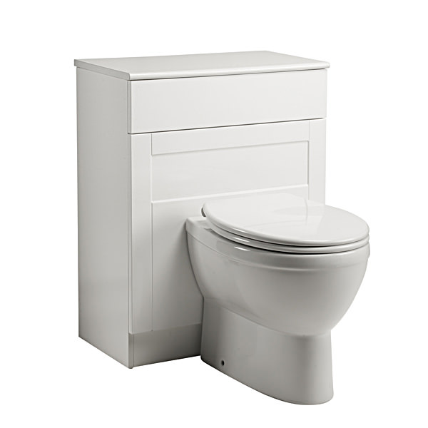 Large Image of Roper Rhodes New England 620mm Back To Wall WC Unit White