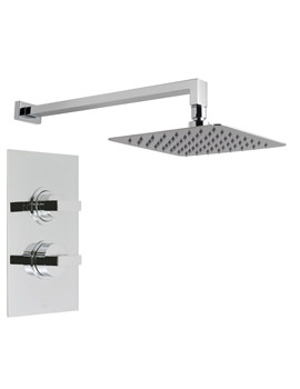 Notion-Aquablade Concealed Thermostatic Valve And Shower Head
