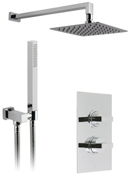 Vado Notion-Aquablade Thermostatic Shower Valve With Head And Handset