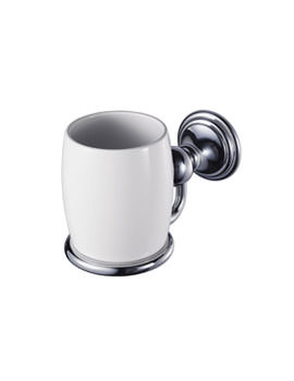 Aqualux Haceka Allure Toothbrush Holder Chrome - 1126171