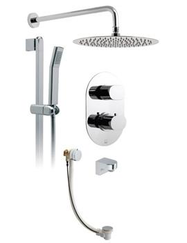 Related Vado Life-Aquablade 3 Way Thermostatic Shower Set And Bath Filler