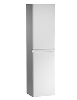 Equate 300mm White Tall Storage Unit - EQ3CW