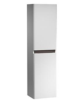 Equate 300mm White-Grey Oak Tall Storage Unit - EQ3CWA