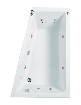 Phoenix Saranto Right Hand Whirlpool System 1 Corner Bath 1500mm