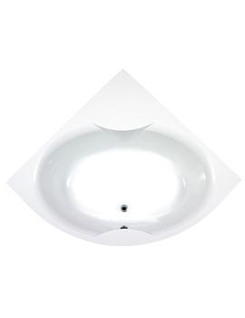 Nice Corner Bath With Panel 1400 x 1400mm - BH016