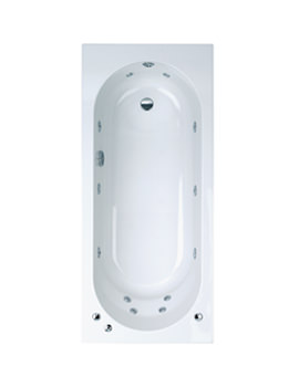 Phoenix Modena Single Ended Whirlpool System 1 Bath 1700 x 750mm