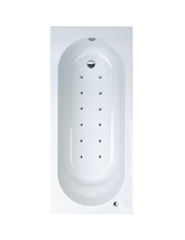 Phoenix Modena Single Ended Airpool System 2 Bath 1700 x 750mm