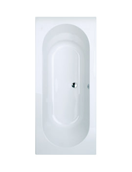 Phoenix Florence Double Ended Bath 1800 x 800mm - FLOBT303