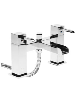 Q60 Deck Mounted Bath Shower Mixer Tap With Handset - TQ42