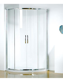 Infinite 1000 x 810mm RH Curved Center Access Slider Door