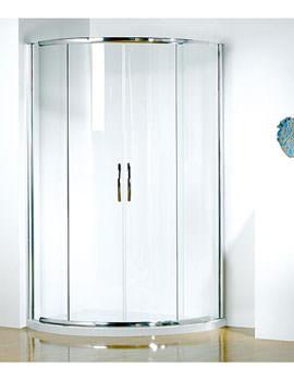 Infinite 1000 x 810mm RH Curved Center Access Slider Door