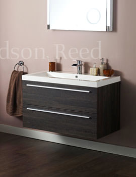 Related Hudson Reed Laurel 900mm Wall Mounted Basin And Cabinet - FLR001