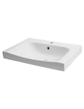 Breathe 610mm Wide 1 Tap Hole Basin