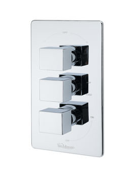 Tre Mercati Geysir Concealed Thermostatic Valve With 3 Way Diverter