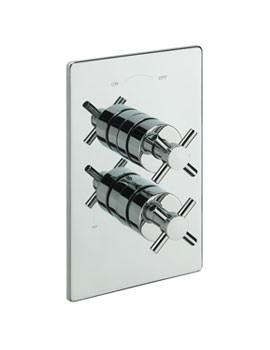Tre Mercati Erin Concealed Thermostatic Shower Valve Chrome - 82091