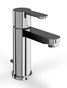 Crystal Basin Mixer Tap With Pop Up Waste Chrome - CTA2