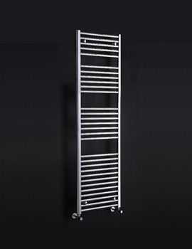 Phoenix Flavia Straight 12 Rails Chrome Towel Rail 300 x 800mm - RA100