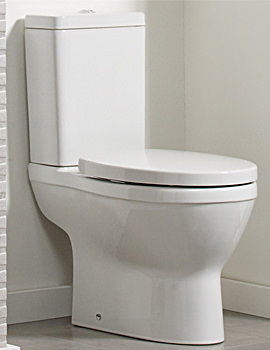 Minerva Close Coupled Pan With Cistern And Soft Close Seat