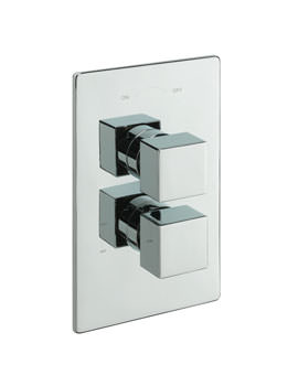 Tre Mercati Turn Me On Concealed Thermostatic Shower Valve Chrome